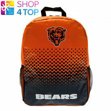 CHICAGO BEARS OFFICIAL AMERICAN FOOTBALL CLUB BACKPACK TRAVEL BAG TEAM NEW