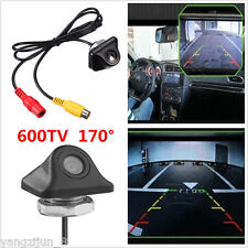 Car 170º 600TV HD Rear View Reverse Backup Parking Camera Night Vision Universal
