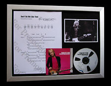 TOM PETTY Don't Do Me Like That TOP QUALITY CD FRAMED DISPLAY+FAST GLOBAL SHIP