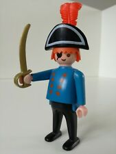Playmobil Figure - Shaved Pirat with sword (Loose)