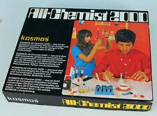 Kosmos All-Chemist 2000 , s.gut erhalten, Chemiebaukasten, mit Anleitung
