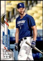 Clayton Kershaw 2020 Topps Short Print Variations 5x7 #118 /49 Dodgers