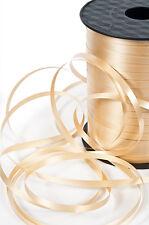 Premium Balloon Curling Ribbon 5mm x 450m length Antique Gold, Gold