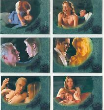 Buffy TVS Season 6 Complete Love Bites Back Chase Card Set LBB1-6