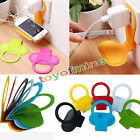 Foldable Cell Phone Charging Rack Holder Wall Charger Adapter Hanger Shelf 1pcs