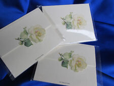 18 Paris Je T'Aime French Place Cards Cream Color Rose 3 Pkgs, 6 In Ea, Unopened