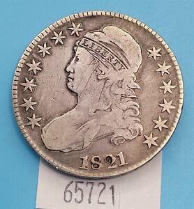 WPCoins ~ 1821 Cap Bust Half