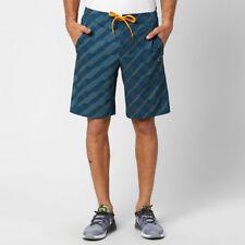 Geometric Regular Size XL Athletic Shorts for Men