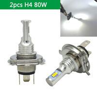 2* H4 9003 HB2 LED Headlight 35W 4000LM HI-LO Beam Bulbs Clear White 12V / 24V