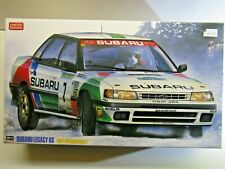 Hasegawa 1:24 Scale Subaru Legacy RS 1992 Swedish Model Kit - New - Kit # 20290