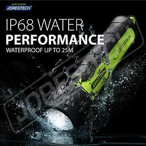 LED water Flashlight Diver Diving Light Lamp Waterproof Outdoor IP68 Jorestech