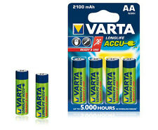 4x Battery AA VARTA Ready2use Power 2100mah for Cordless Telephone Gigaset DECT