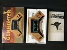 BANDAI GUNFIGHTER Handheld Tabletop Arcade Video Game