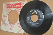 THE BLENDERS: SINCE I KISSED MY BABY GOODBYE & I'M FOLLOWING YOU. RCA MINT- 45