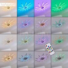 Decken Lampen Design LED Farbwechsler Wohn Schlaf Zimmer Leuchten Fernbedienung
