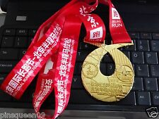 2016 BEIJING INTERNATIONAL RUNNING FESTIVAL HALF MARATHON FINISHER MEDAL 70mm