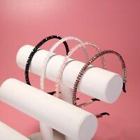 1PC Crystal Metal Hairband Bling Headband Bead Rhinestone Crystal Hair Band