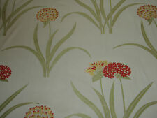 """Sanderson per tende in tessuto design """"Lilia Weave"""" 5 metri arancione e oro (500 cm)"""