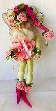 "Mark Roberts Cabbage Rose A2 Fairy Medium 15"" 51-61644 Box + COA Ltd Ed 48/1000"