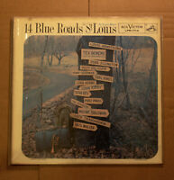 Blues Roads to St Louis Lp MIles Davis Duke Ellington Eartha Kitt LP VG+ RCA1714