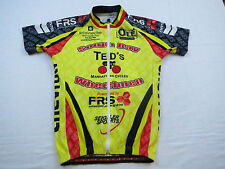 Mens Capo Chevron Bike Cycling Jersey Shirt Small Italy Full Zip High Viz  MTB 4fa8f80c6