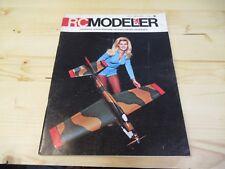 VINTAGE RC MODELER MAGAZINE JULY 1972 AIRPLANE MODELS BLONDE COVER AND MORE !!