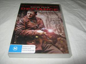Defiance - Daniel Craig - Ex Rental DVD - R4