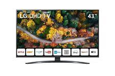 "TELEVISORE Smart TV 43"" LG UHD 4K 2021 WiFi DVB-T2 43UP78003LF PIEDE CENTRALE"