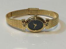 Vintage Elgin Diamond   Elegant Gold Plated Ladies Wrist Watch(EL-020Q)