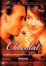 Chocolat (DVD, 2001) R4, Juliette Binoche, Johnny Depp, Alfred Molina Judi Dench
