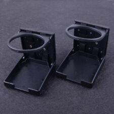 2x Cup Holder Insert Folding Drink Fit for Boat Marine Car RV Truck SUV Van UTV