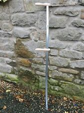 Alpine Turk Grass Meadow Scythe Steel Snaith Shaft 1.5m Long 150cm Curved Pole