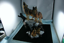 Danbury Mint Figurine Wilderness Call Wolf