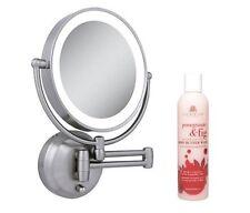 Zadro LEDW410 LED Lighted Wall Mounted Mirror Cuccio Pomegranate Fig Body Wash