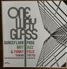 One Way Glass: Dancefloor Prog, Brit Jazz, Funky Folk 3CD box