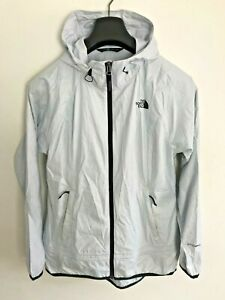 Womens The North Face Jacket / Coat size UK S/M Windwall Lightweight Grey