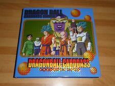 DRAGON BALL Z DBZ CARDDASS STATION SYSTEM FILE PART 33 34 CARTE CARD BOOK BINDER