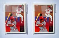 1990 Upper Deck Cincinnati Reds Baseball Team Lot (2 Sets, 26 Cards Each) Mint