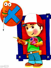 "8"" Handy manny tools wall safe fabric decal cut out character"