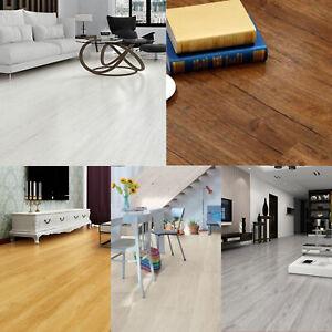 Self adhesive PVC Floor Planks Tiles Grey White Beige Brown Oak 5 m²  EasyFloor©