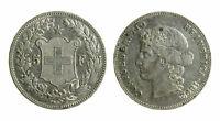 s326)  SVIZZERA - Confederazione - 5 Franchi 1892