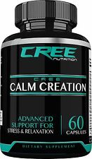 Calm Creation  Anxiety & Stress Relief Support Relaxed Minds, Serotonin, Calming