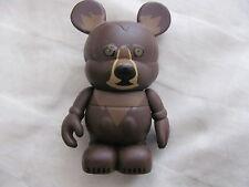 "DISNEY VINYLMATION Animal Kingdom Series Brown Bear Vinylmation 3"" Figurine"