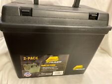 Plano 1336SA  Black Deep Field Tactical Ammo Storage Case DOUBLE PACK