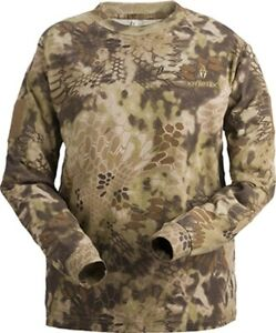 Kryptek Stalker Men's Long Sleeve Shirt Highlander Camo XLarge
