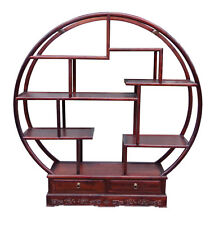Chinese Round Shape Display Curio Cabinet Room Divider cs3136
