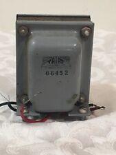 Vintage Triad 66452 Transformer