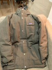 Men's Patagonia Brown Hibernation Doen Parka Small
