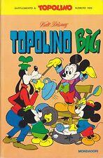 I CLASSICI DI WALT DISNEY PRIMA SERIE 62 (LUGLIO 1975) TOPOLINO BIG