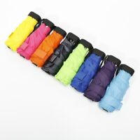 Portable Foldable Capsule Umbrella Mini Light Small Pocket Umbrellas Anti-UV US